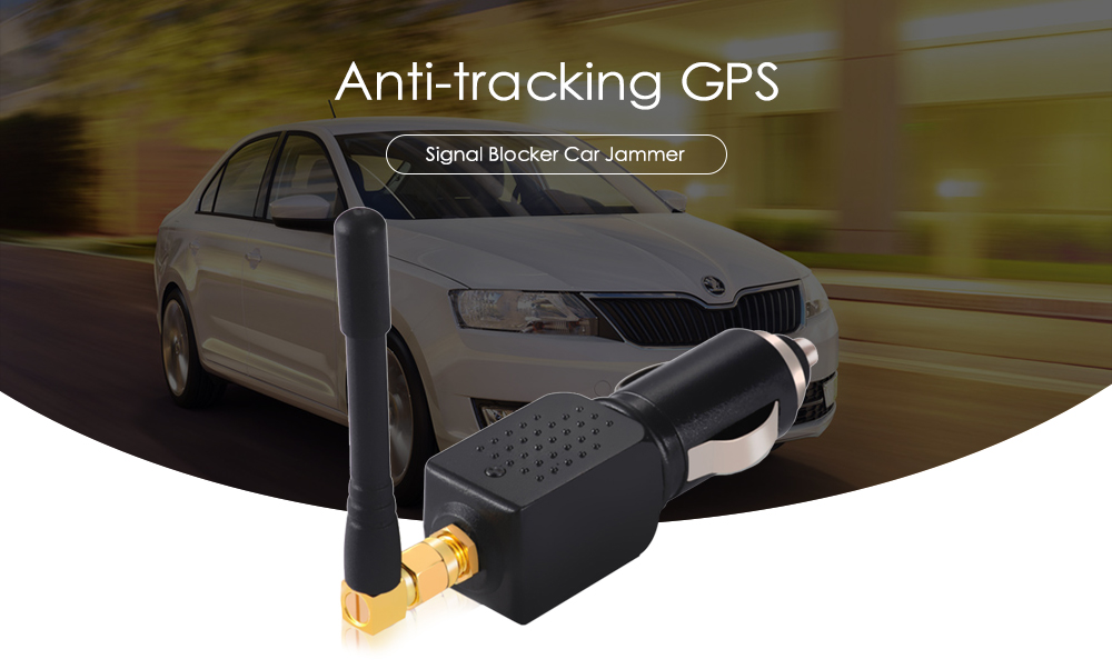 Anti-tracking GPS Signal Blocker Car Jammer
