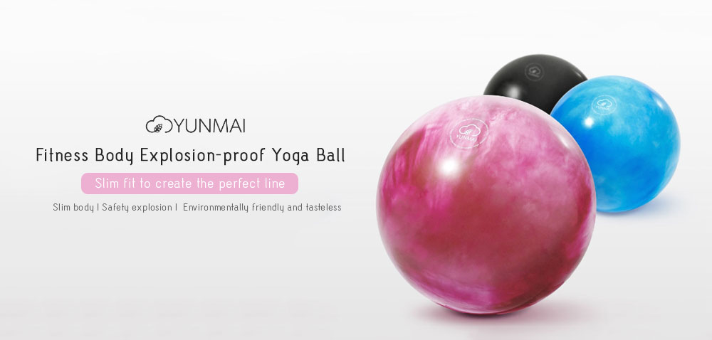YUNMAI Durable Explosion-proof Yoga Ball from  youpin- Black