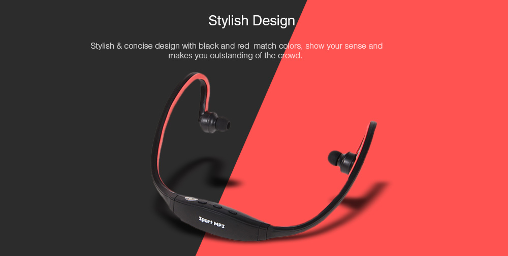 Fashion Sport MP3 Player Headset