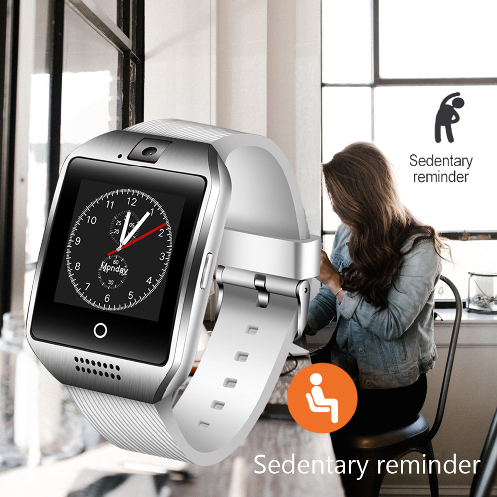 Bluetooth Smart Watch Q18 With Camera Support SIM TF Card Smartwach