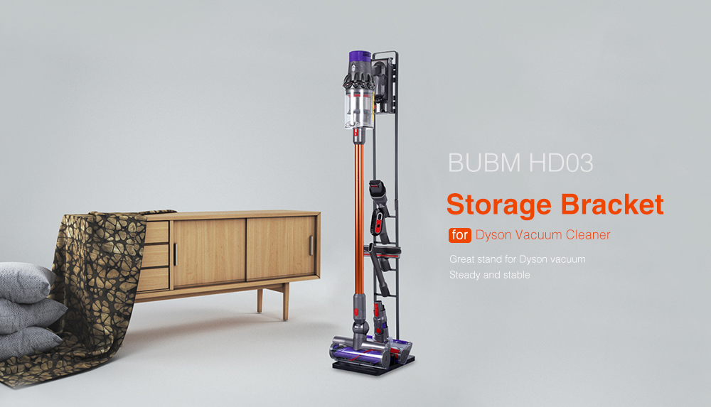 BUBM HD03 Stable Stand Storage Bracket for Dyson Vacuum Cleaner