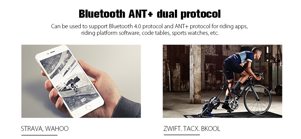 Bicycle ANT+ Bluetooth 4 0 Geomagnetic Sensor Speed Cadence