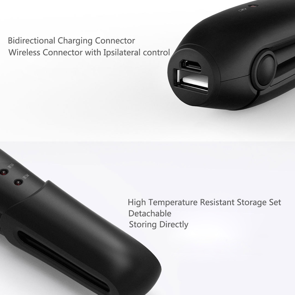 YueLi Wireless Mini Hair Straightener Comb Portable LED Indicator from Xiaomi youpin