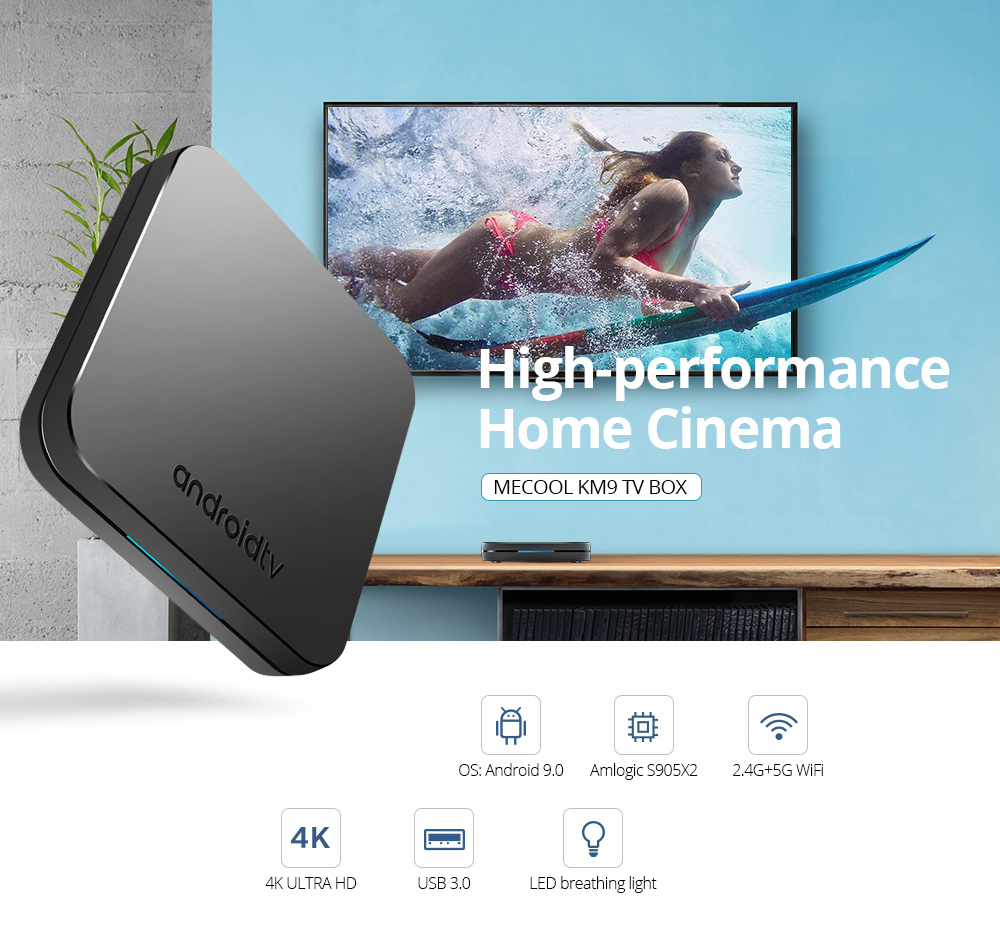 MECOOL KM9 Android 9 0 TV Box