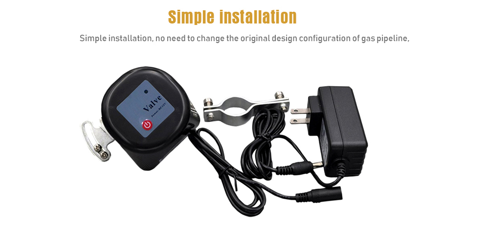 Garden Irrigation Smart Electric Water Valve Switch Controller- Black UK Plug