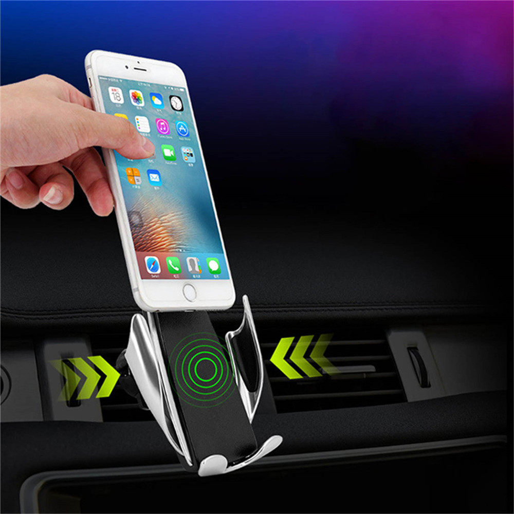 Image result for Smart Sensor Car Wireless Charger S5 Dual Stand