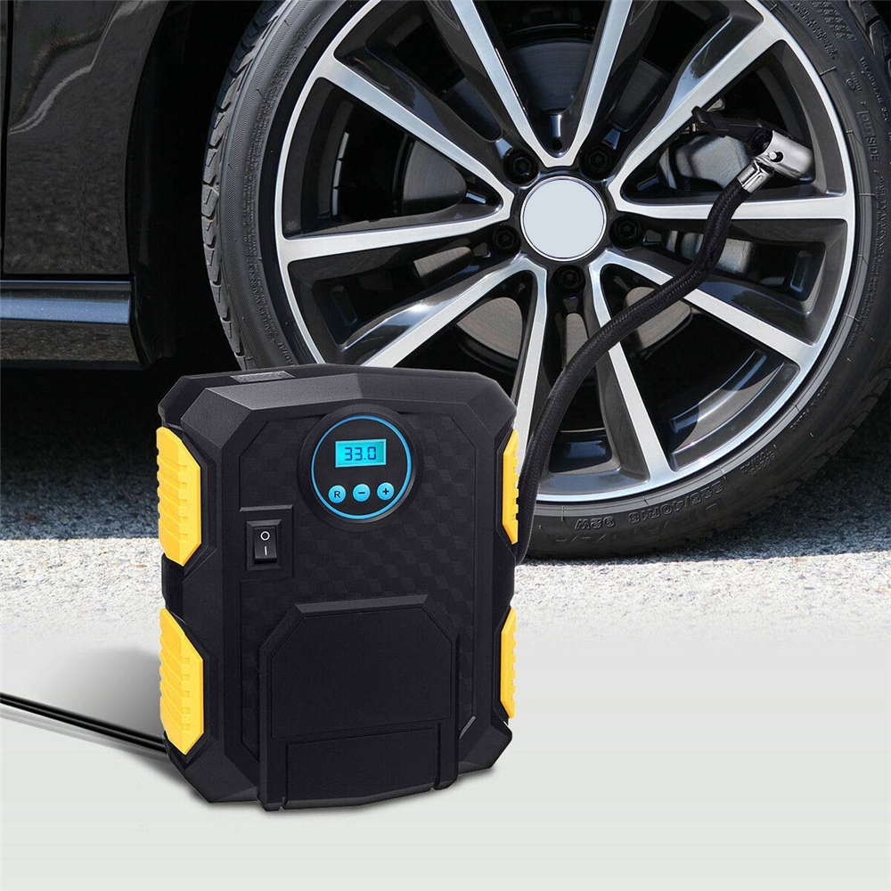 Gocomma 910G Digital Inflator Car air pump- Black