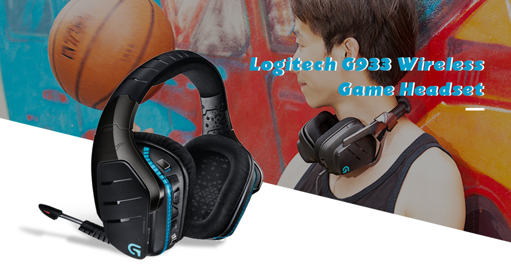 Logitech G933 Wireless 7 1 Surround Sound Game Headset