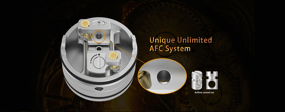 Vapefly Holic MTL RDA Unique Unlimited AFC System