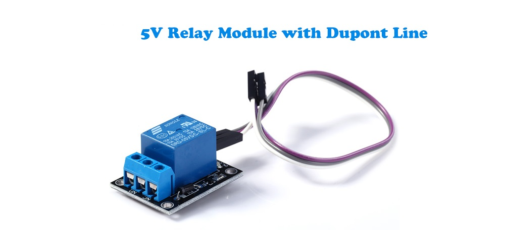 5V Relay Module with Dupont Line