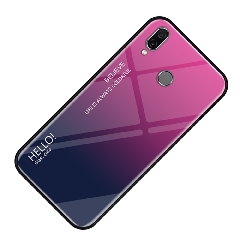 2019 LGYD 25 PCS AG Matte Frosted Full Cover Tempered Glass for Huawei P Smart