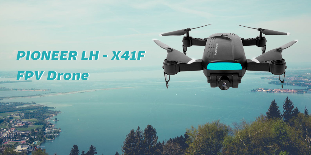PIONEER LH X41F WiFi Quadcopter Folding Positioning Drone
