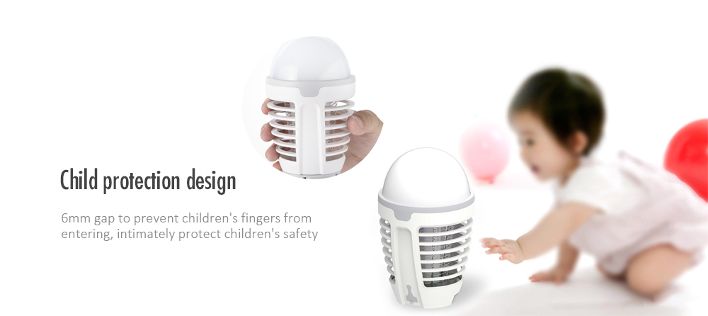 DYT - 90 Portable USB Rechargeable Mosquito Killer from Xiaomi youpin- White