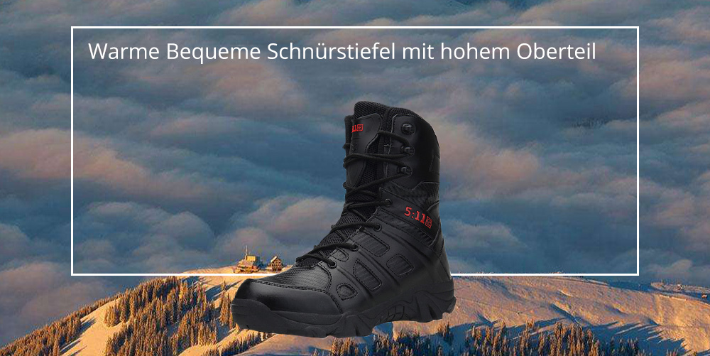 Vancat Stiefel Mode High Komfortabel Warm Herren Top Langlebig FT1JKlc