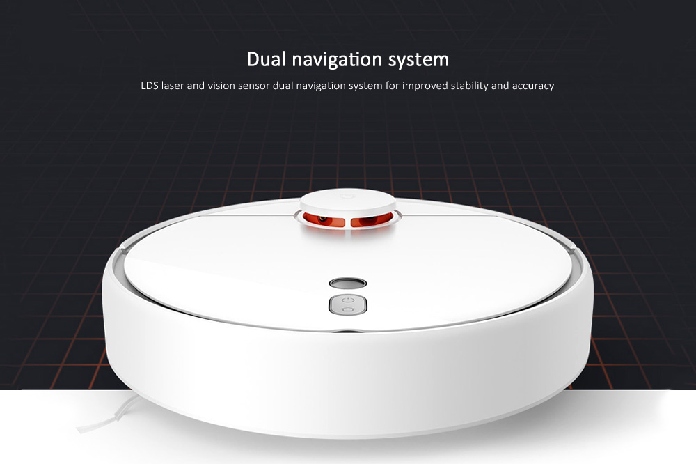 Xiaomi Mijia 1S Intelligent Sweeping Robot- White