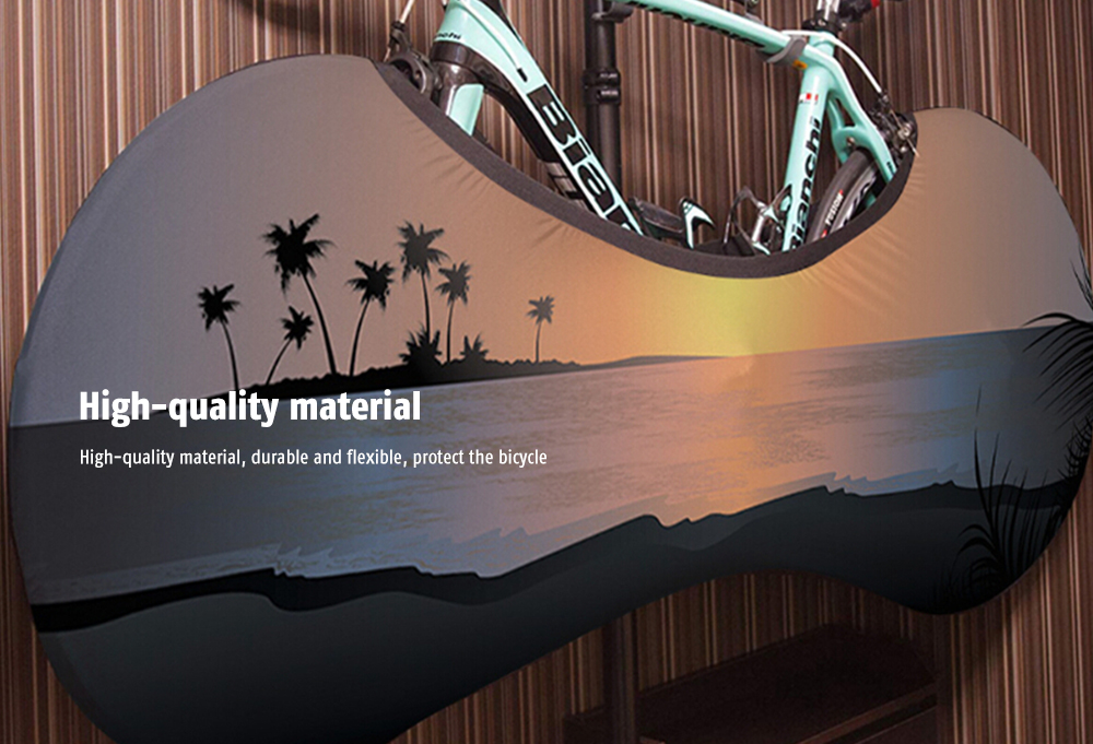 Stylish Durable Universal Bicycle Tire Protective Cover- Multi-D