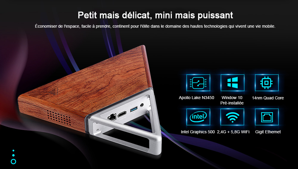 Martrea Acute Angel AA - B4 Mini PC Intel Apollo N3450- Multi-A PRISE EU