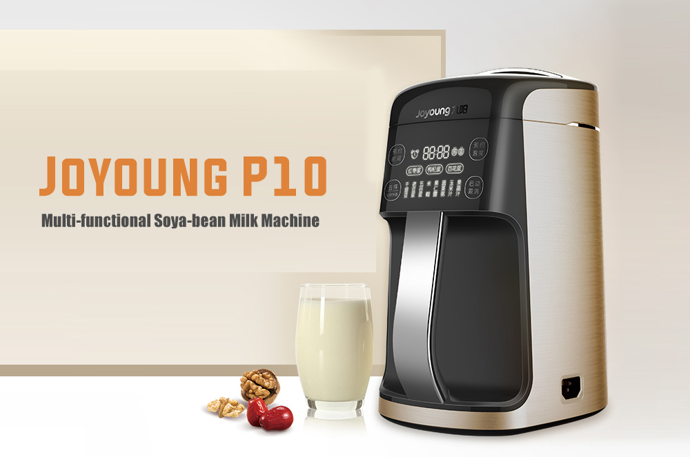 Joyoung P10 Home Soya-bean Milk Machine - Champagne Gold