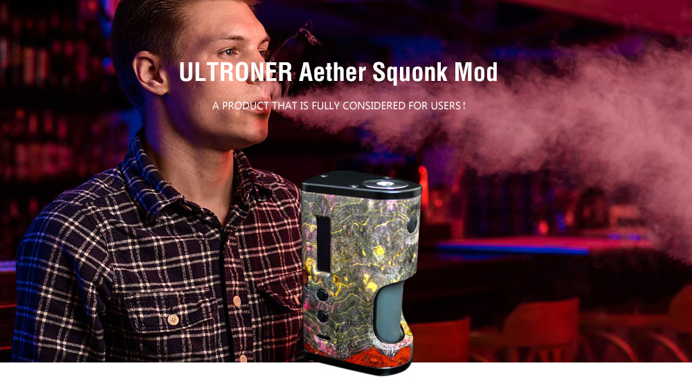 ULTRONER Aether Squonk Mod 80W- Green