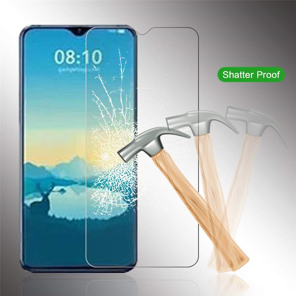 Tempered Glass Screen Protective Case for Xiaomi Mi 9 SE 2pcs- Transparent