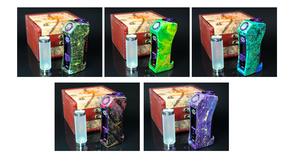 ULTRONER ThorII DNA 75C TC Box mod Color Available