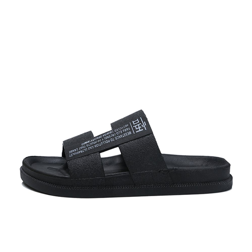 cd2b62547 2019 Trend Summer Beach Outdoor Sandals for Men- Black EU 42