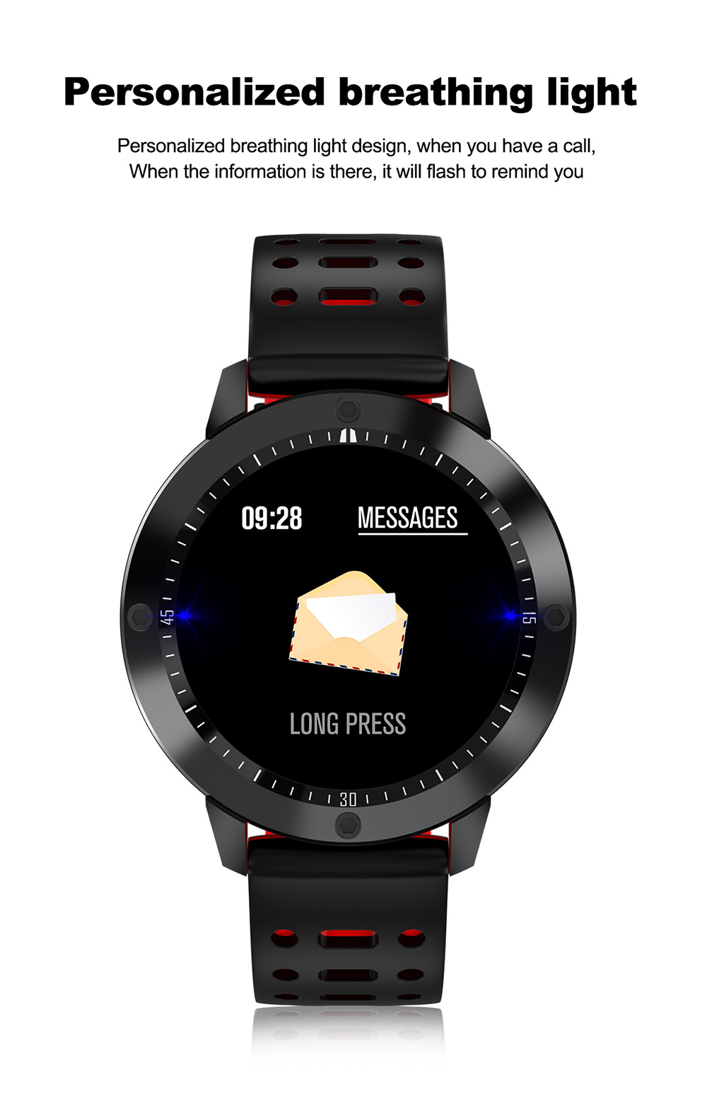 CF58 Smart Watch- Nero