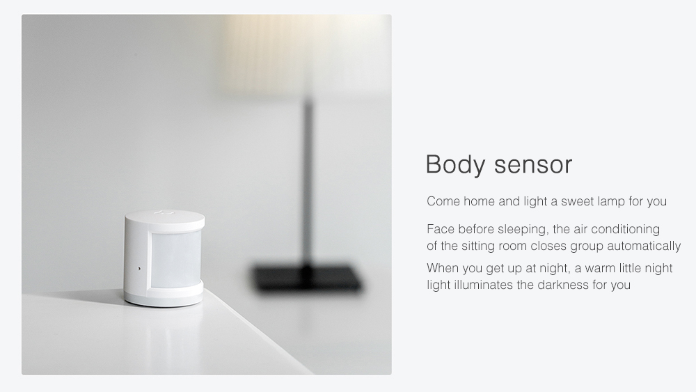 Xiaomi Mijia Multifunctional Gateway / Window / Body Sensor / Wireless Switch Smart Socket Set- White