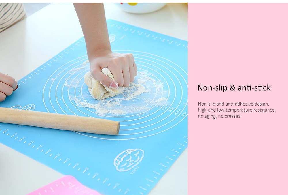 Non-stick Baking Mat for Dough / Fudge / Pastry / Frosting- Blue