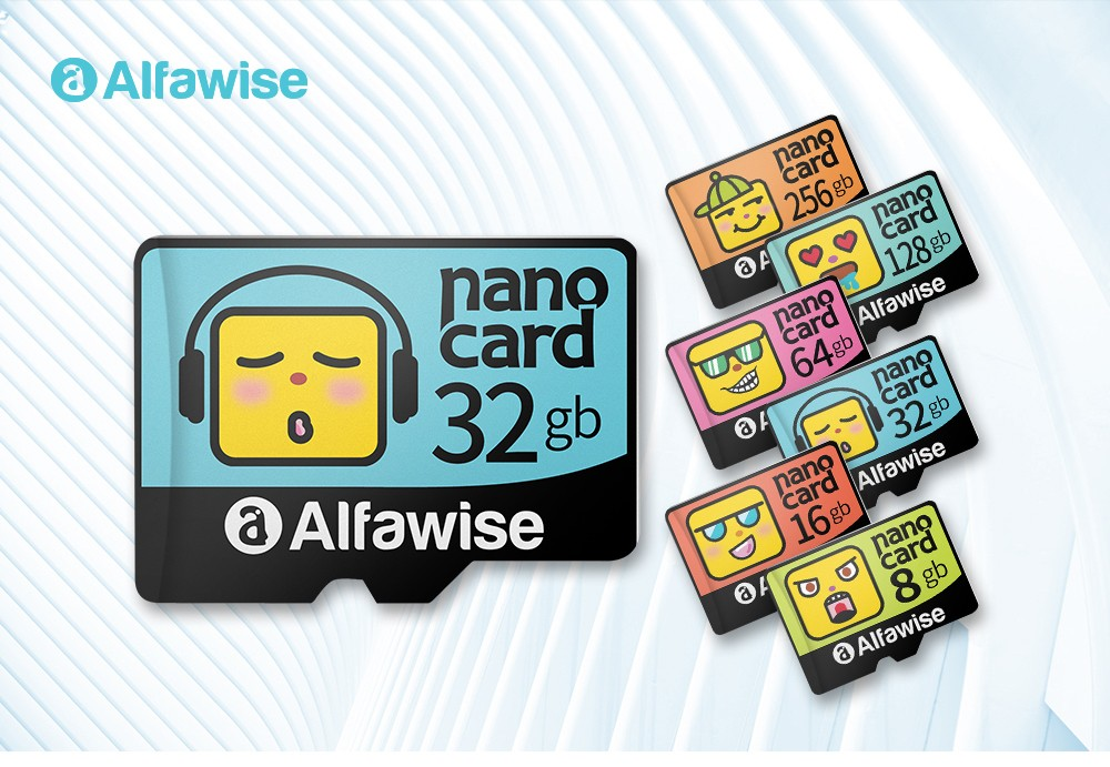 Alfawise High Speed ​​High Capacity Micro SD Card- Multi 32G