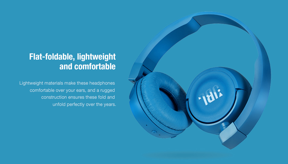 Jbl T450bt Wireless On Ear Headset With Built In Remote And Mic Sale Price Reviews Gearbest