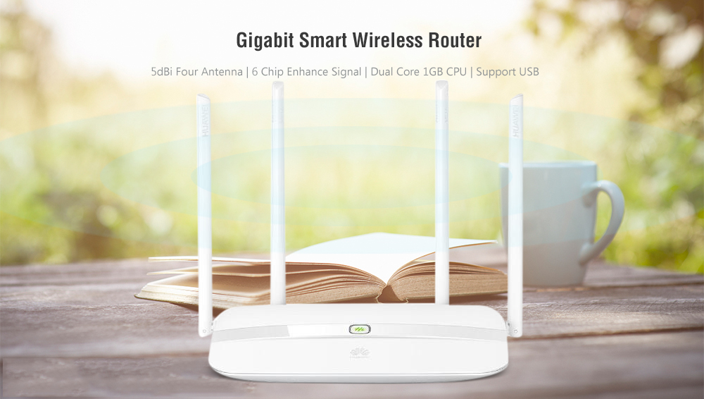 HUAWEI WS832 AC1200M Gigabit Smart Wireless Router