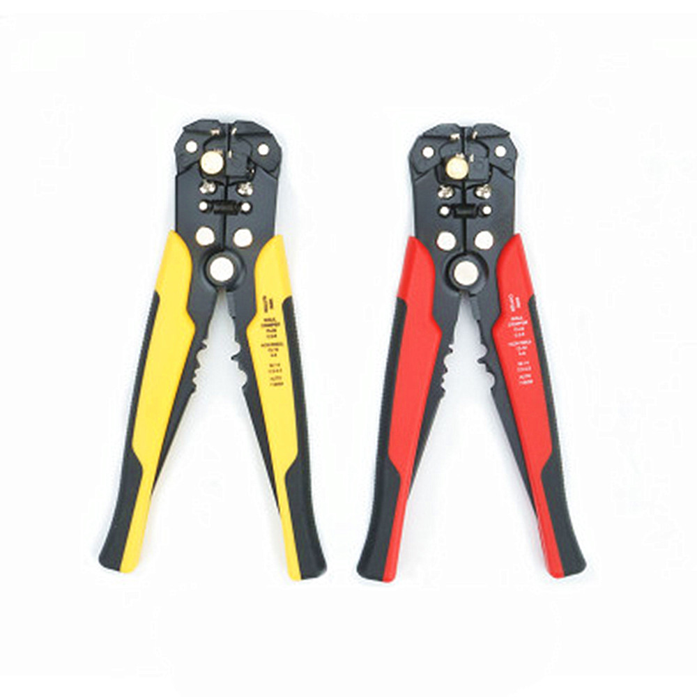 USA Metal Auto Wire Cutter Stripper Plier Electrical Cable Crimper Terminal Tool