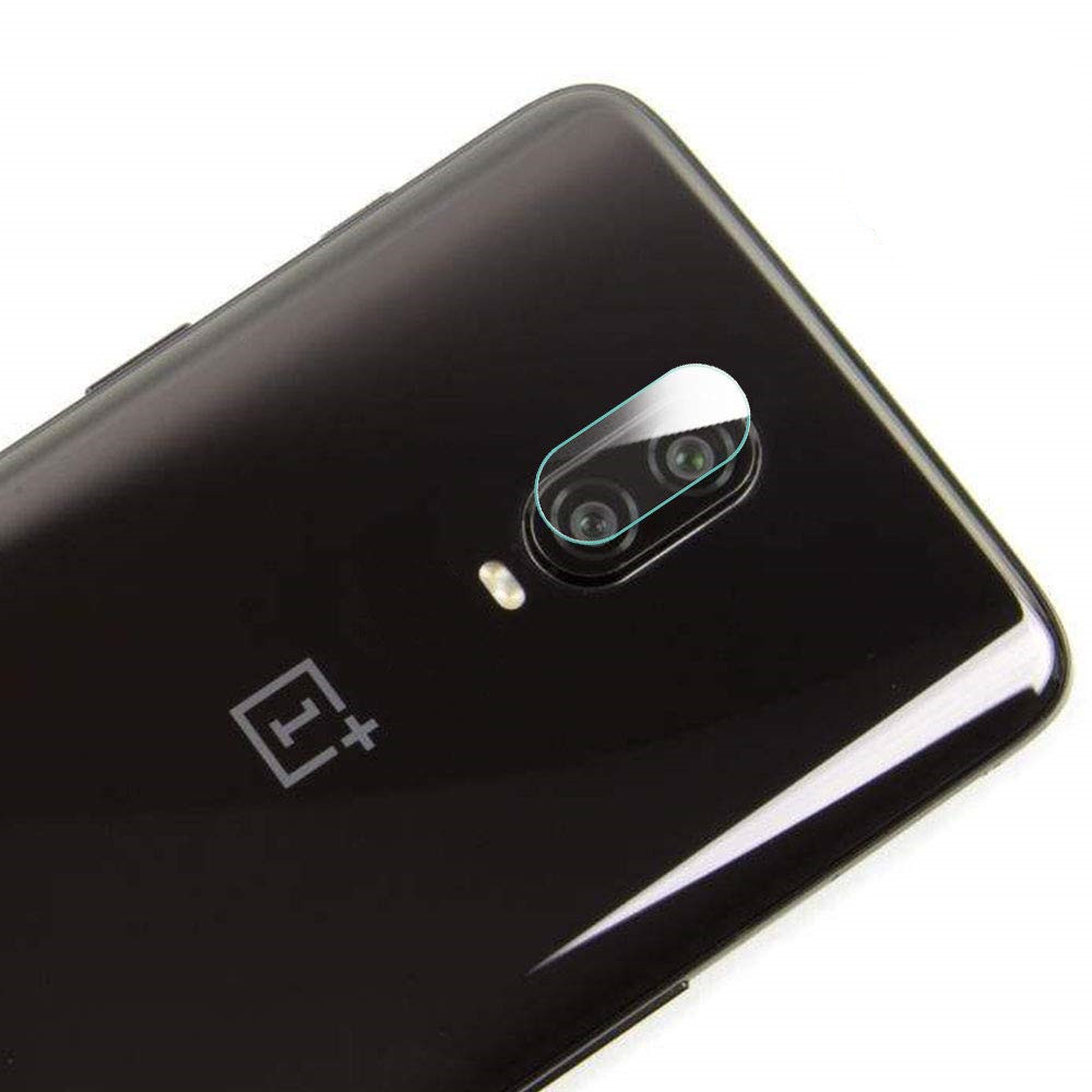 Camera Lens Protector Tempered Glass Film for OnePlus 6T- Transparent