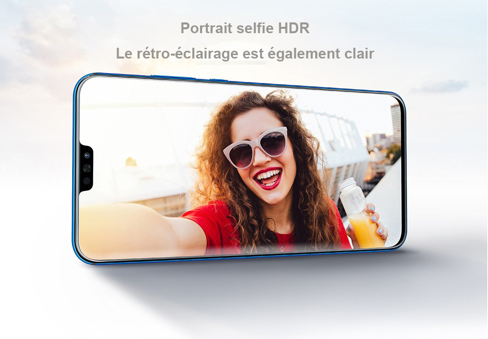HUAWEI Honor 8X Smartphone 4G 4Go RAM Version Internationale- Bleu