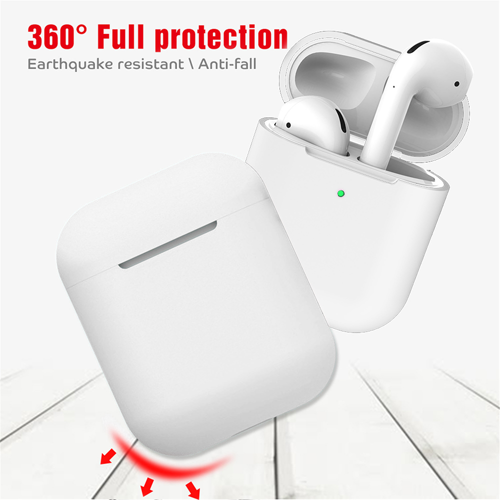 i12 TWS Bluetooth V5.0 Earbuds Binaural Call- White