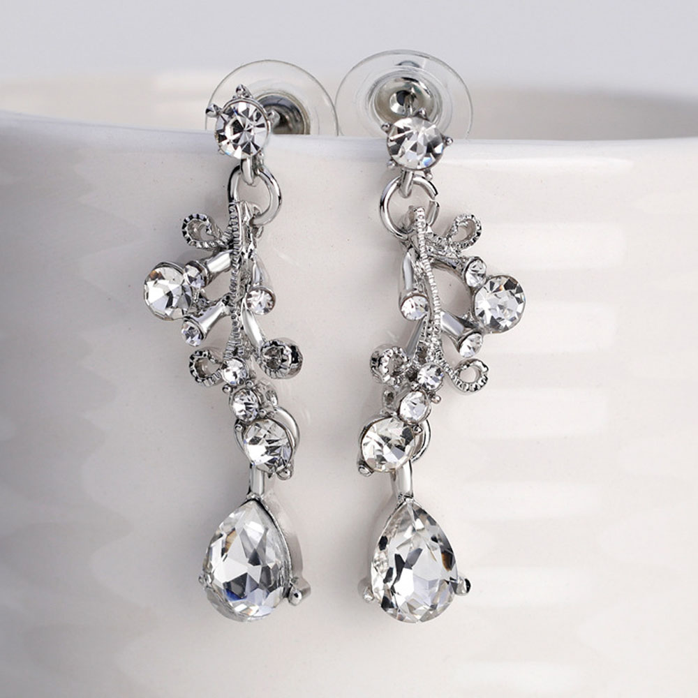 FEIS Fashion Simple and Exquisite Necklace Set- Silver