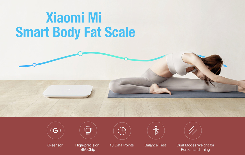 Xiaomi Mi Smart Body Composition Scale Bluetooth 5.0- White