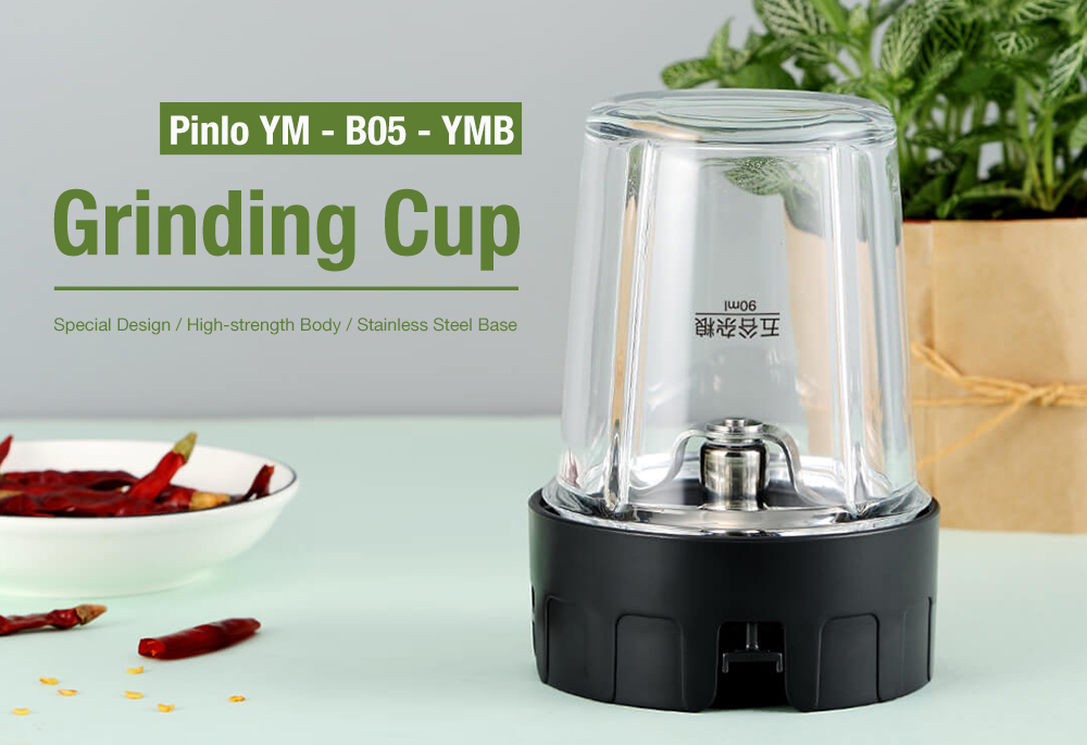 Pinlo YM - B05 - YMB 250ml Transparent Grinding Cup from Xiaomi youpin- White