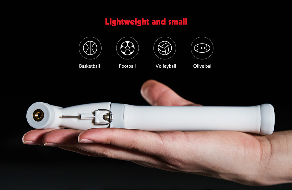Lightweight Portable Bilateral Air Pump from Xiaomi youpin- White