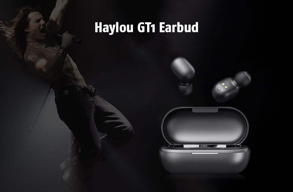 Haylou GT1 Touch Control / Noise Canceling / Comfortable Wearing / Wireless Bluetooth 5.0 Earbud- Black