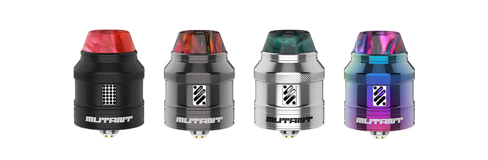 Vandy Vape Mutant RDA Atomizer 1.2ml- Silver