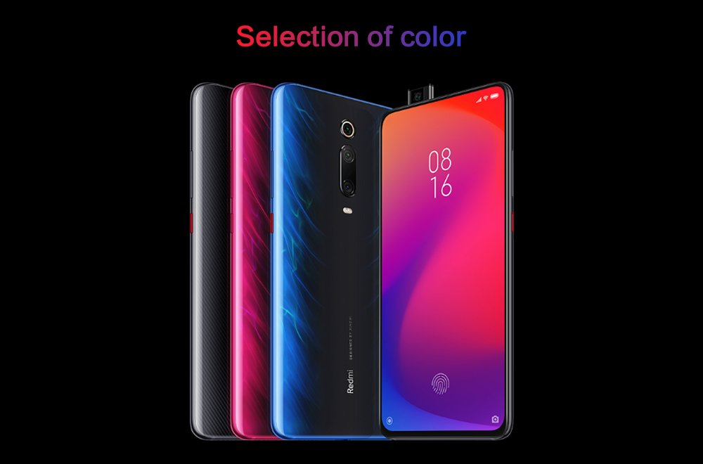 Xiaomi Redmi K20 4G Phablet 6.39 inch MIUI 10 Snapdragon 730 Octa Core 2.2GHz 6GB RAM 128GB ROM 48.0MP + 13.0MP + 8.0MP Rear Camera 4000mAh Battery- Red