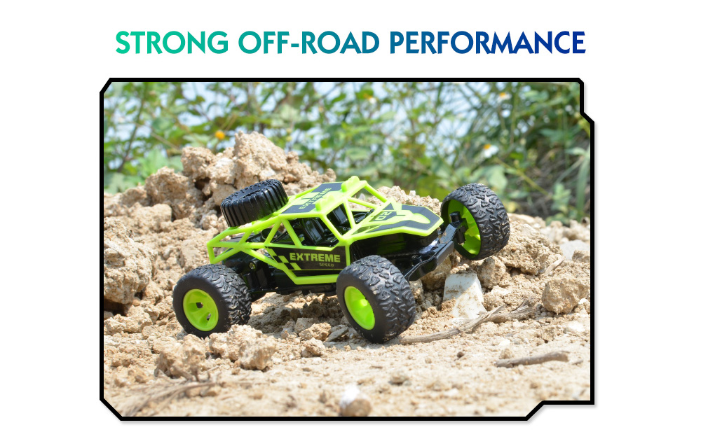 FB FUNNY BOX 2.4G RC Monster Truck Off-road Car RTR Strong Climbing Ability / Long-lasting Power- Orange