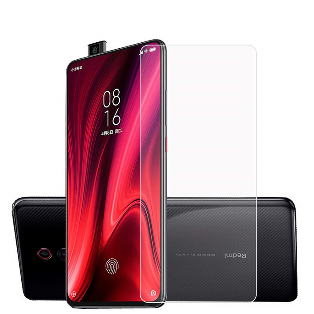 Tempered Glass Screen Protector for Xiaomi Redmi K20 / K20 Pro 2pcs- Transparent