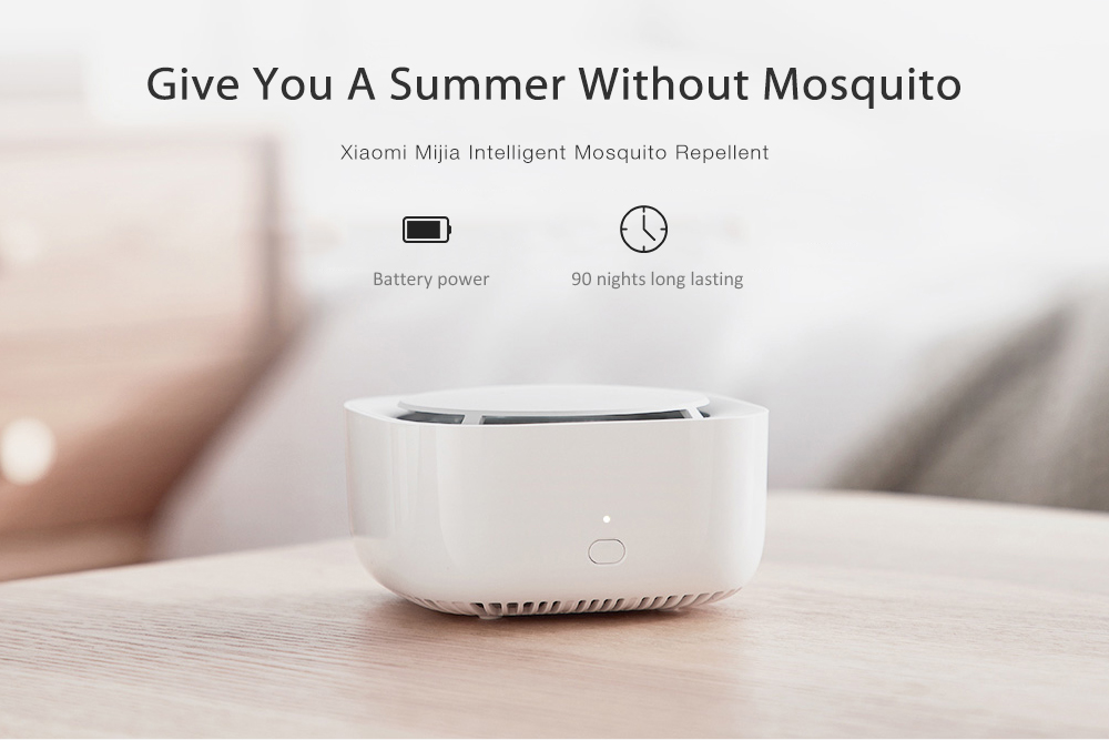 Xiaomi Mijia WX08ZM Intelligent Mosquito Repellent for Home- White