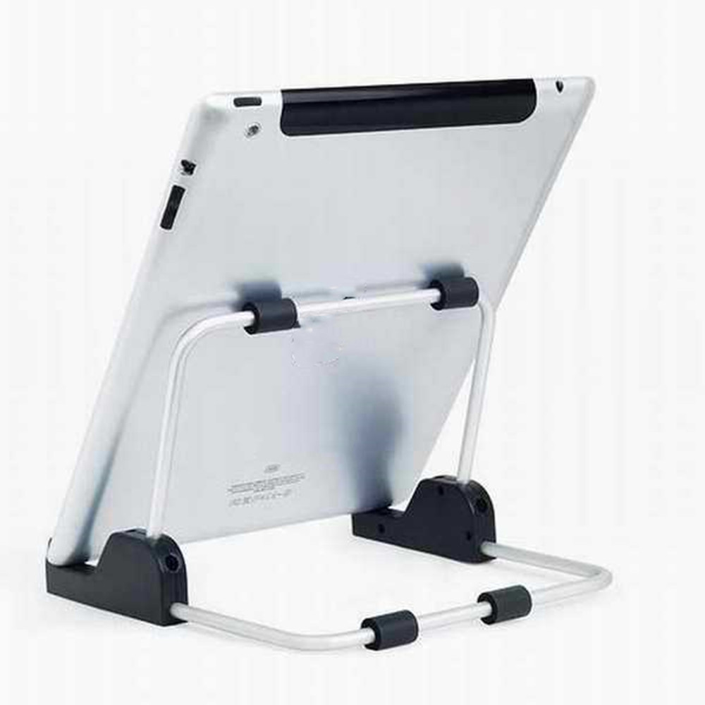 Tablet PC Multifunctional Folding Portable Stand- Black