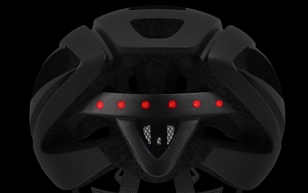 Smart4u SH55M Helmet 6 LEDs Warning Light SOS Alert Walkie Talkie for Outdoor Cycling from Xiaomi youpin- Black