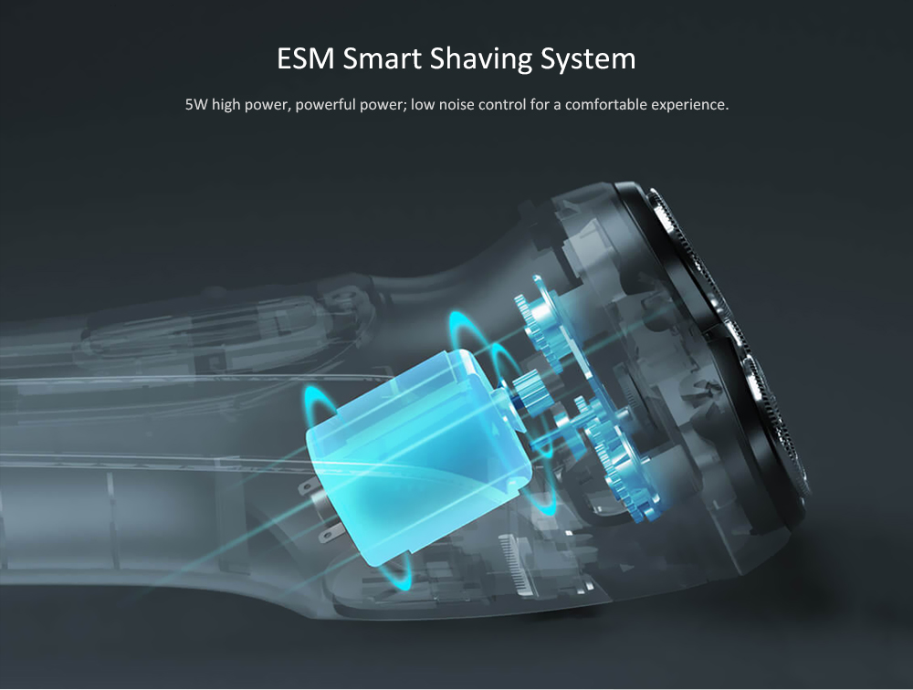 ENCHEN Smart Electric Shaver from Xiaomi youpin- Black