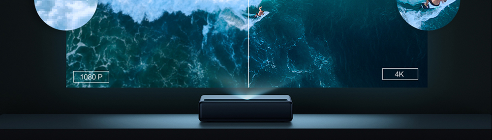 Xiaomi Mijia Laser Projector Projection television 4 K - Black